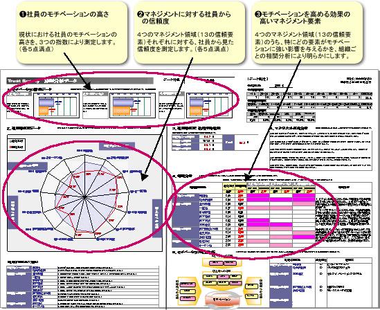 トラストサーベイのデータサンプル